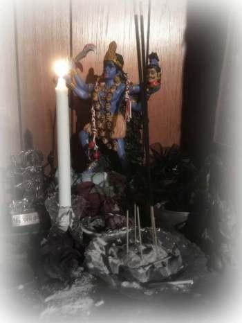 kali altar