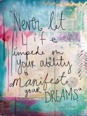 manifest dreams